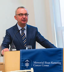 José Baselga, MD, PhD, Physician-in-Chief of Memorial Hospital